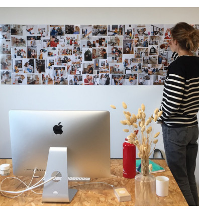 papier peint magnétique pour mur photos - 2m