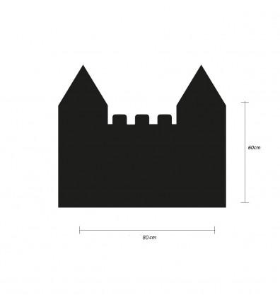 tableau magnétique mural en forme de Château - 60X90 cm