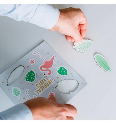 Aimants - Magnets tropicaux- lot de 07 pièces
