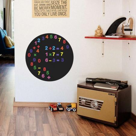 chiffres magnétiques multicolores - lot de 50 magnets