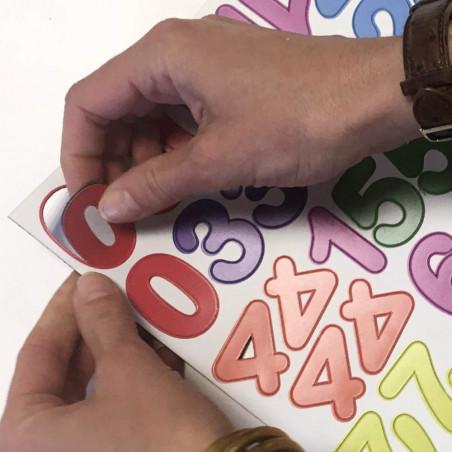 chiffres magnétiques pour enfant