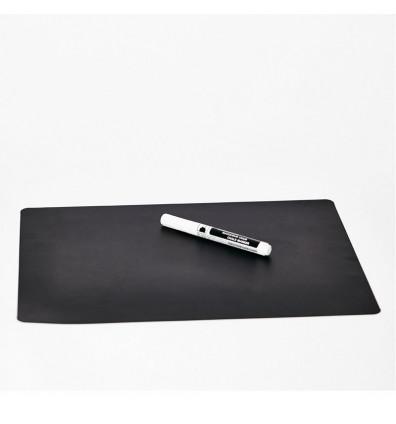 ardoise magnétique noir frigo- 1 pièce - Format 20x29cm