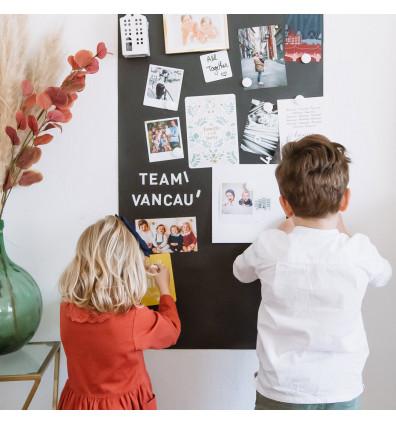 mur d'affichage en papier peint magnétique - 1m