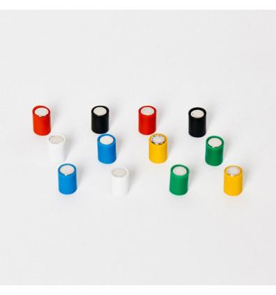 Aimant couleur - Lot de 12 pièces