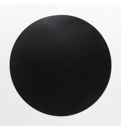 ardoise ronde souple magnétique - noire