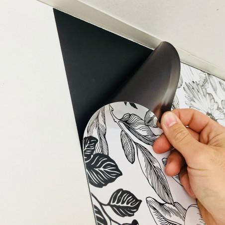 Kit Ferflex® Anémone - papier peint Interchangeable - Edition Limitée
