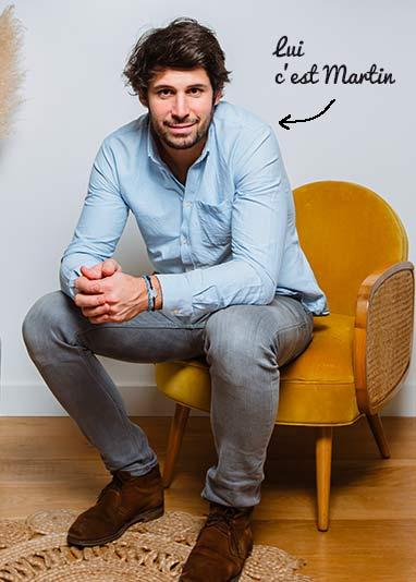 Martin, co-fondateur de la marque Ferflex